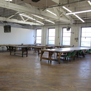 open space will all tables